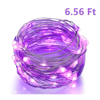 10ft 30 LEDs Warm White Starry Starry Light String Light 3xAA Battery Powered Flexible Indoor String Lights Wedding Party Light