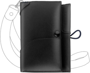 Leather Passport Travel Wallet, Documents Holder Organizer for Mens & Womens