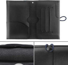 Load image into Gallery viewer, Leather Passport Travel Wallet, Documents Holder Organizer for Mens & Womens