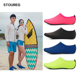 Men Women Water Shoes Swimming Shoes Solid Color Summer Aqua Beach Shoes Seaside Sneaker Socks slippers For Men