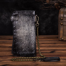 Load image into Gallery viewer, Vintage Leather Legacy Wallet
