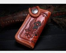 Load image into Gallery viewer, Japanese Handmade Biker Wallet