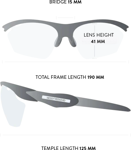 euroman sunglasses measurements