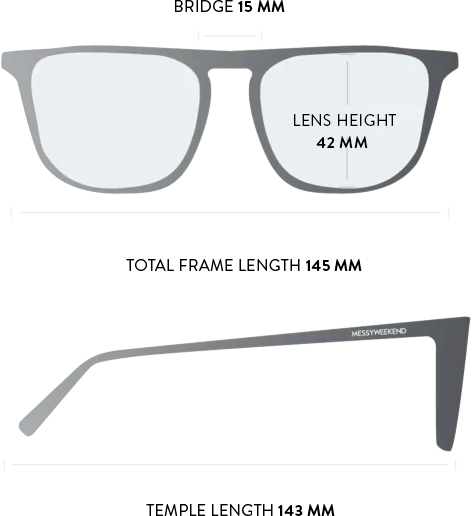 jack sunglasses measurements
