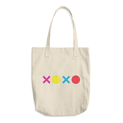XOXO Cotton Tote Bag