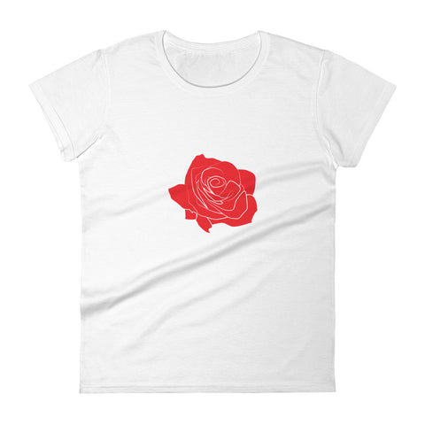 Single Rose Women's T-shirt