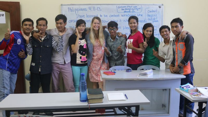You Have a Story Worth Telling: The Day the Holy Spirit Took Over my Classroom in Cambodia
