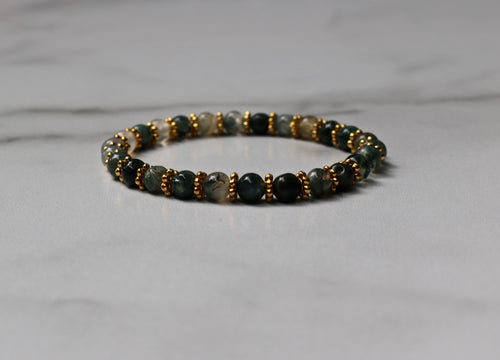 Hope Collection: Jasper and Gold Bracelet