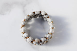 Joyce Bracelet in Light Grey