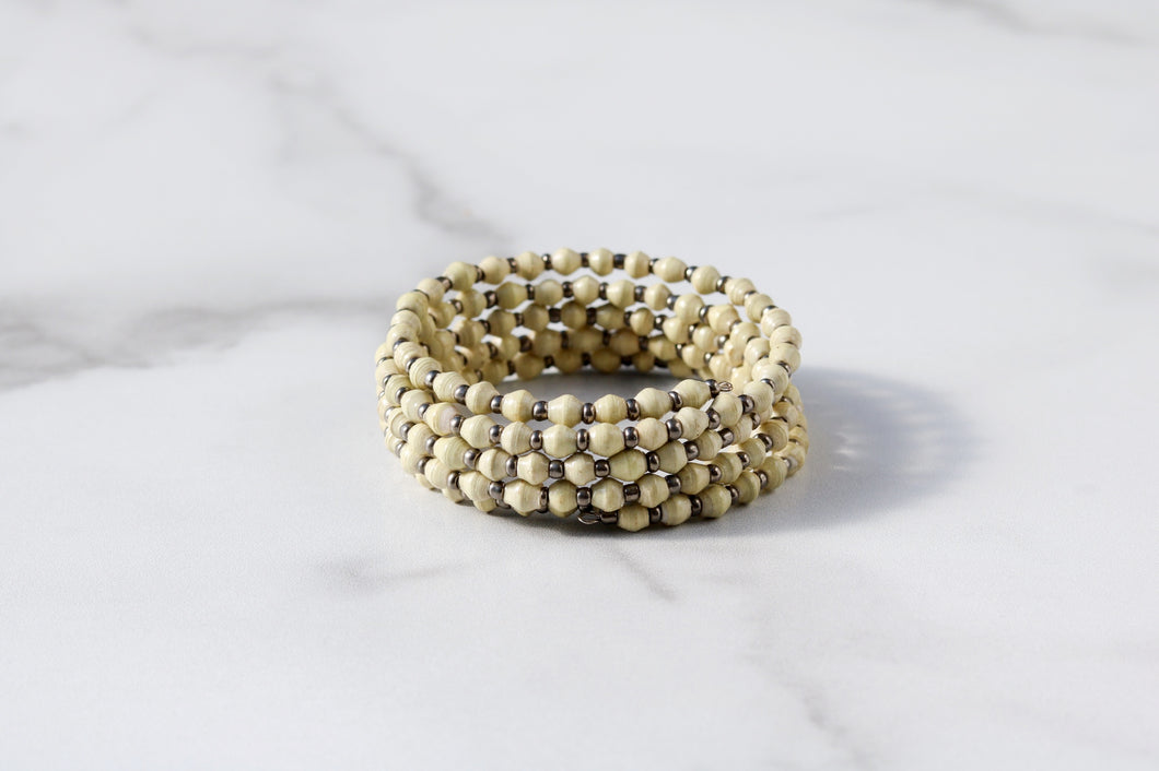 Joyce Bracelet in Cream