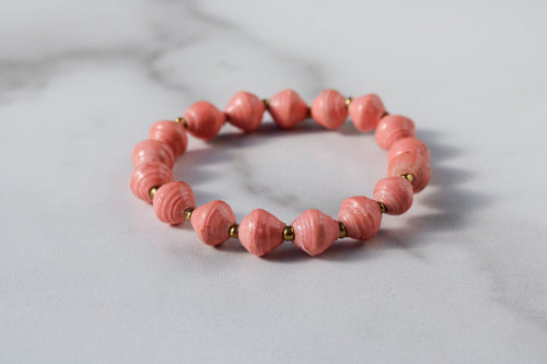 Light Pink Joyce Bracelet Stack