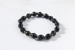 Joyce Bracelet Stack in Black