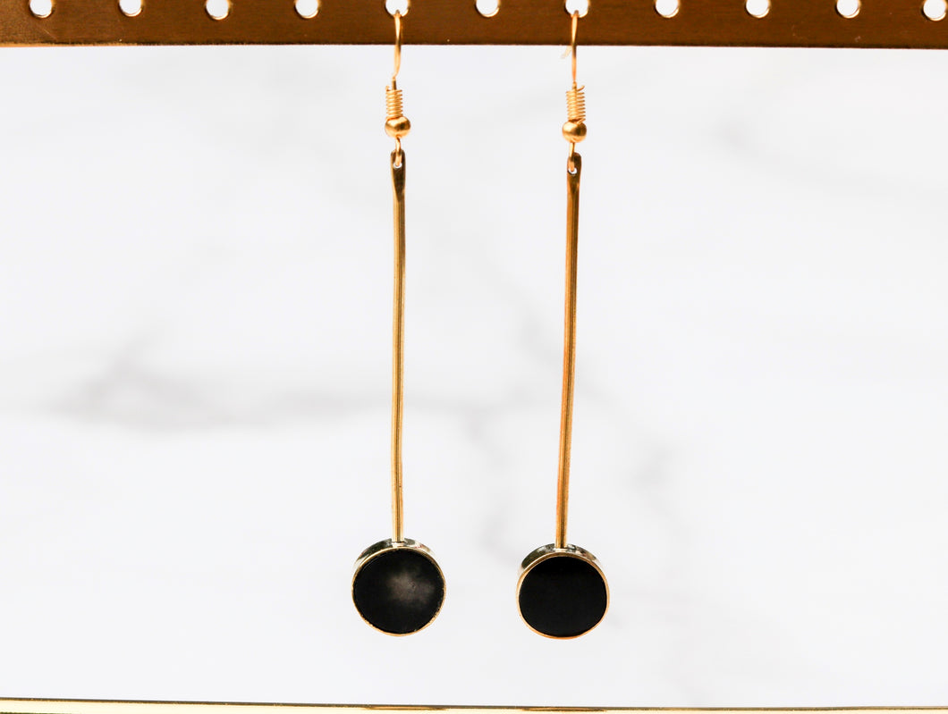 Malindi Earrings in Black
