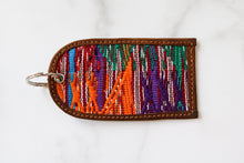 Load image into Gallery viewer, One of a Kind Multi Color Guatemala Luggage Tag