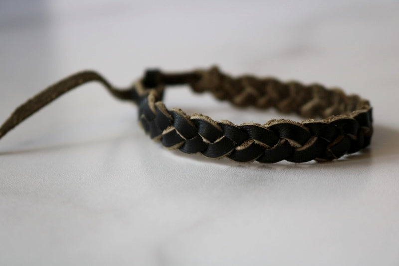 Madagascar Braided Black Bracelet