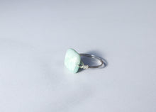 Load image into Gallery viewer, Square Turquoise Ring