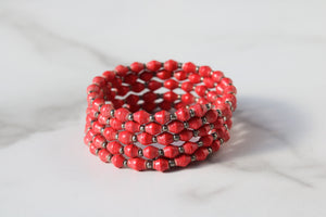 Joyce Bracelet in Red
