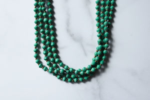 Kamagala Necklace in Kelly Green