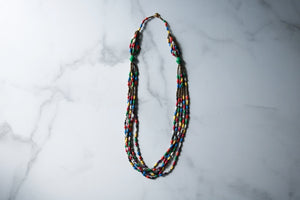 Tulina Necklace With Green Accent