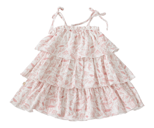 Tiered Rose Tilly Dress