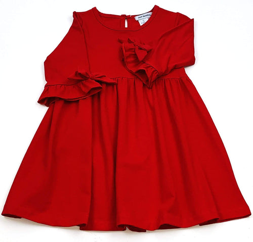 Red Empire Dress