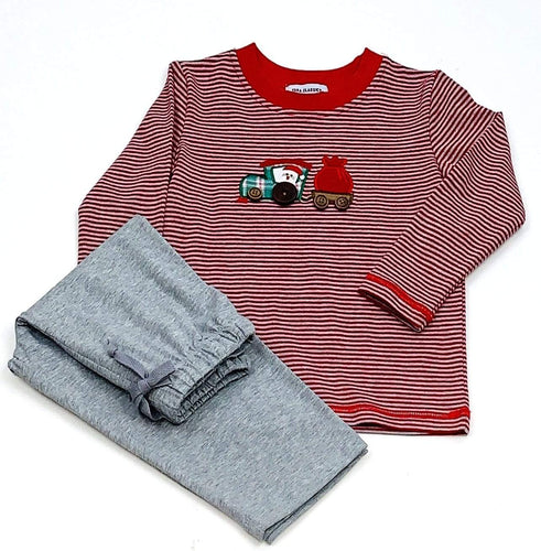 Santa Applique Boys Set