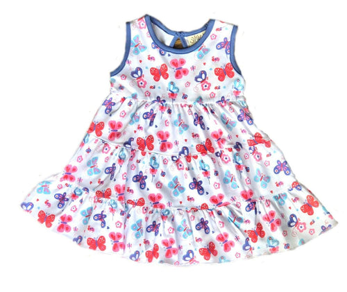 Girl's Butterfly Dress