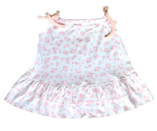 Girl's Pink Flower Petal Dress