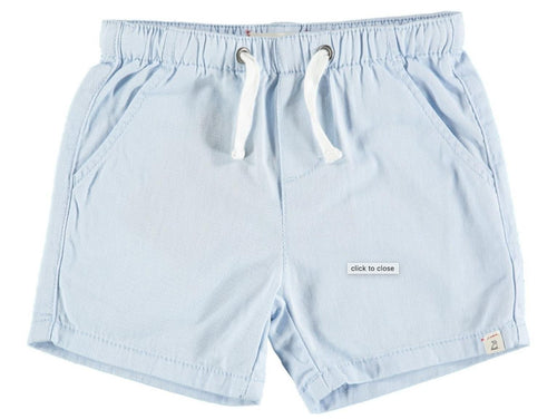 Twill Shorts Pale Blue