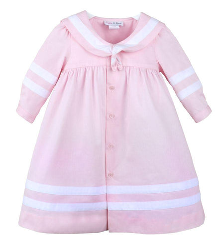 Girls Cord Sailor Dress
