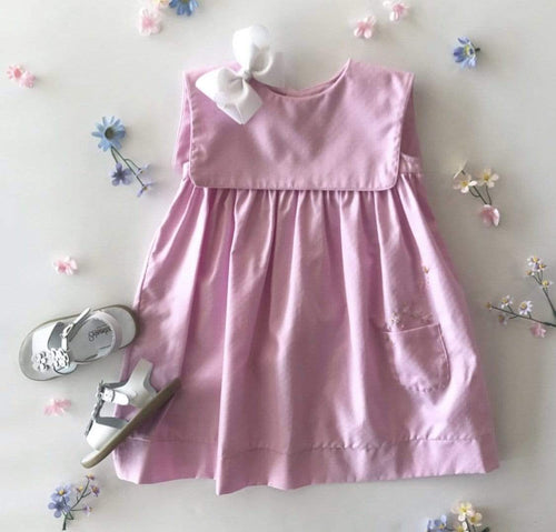 Oxford Dot Dress