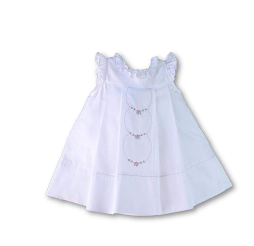 Ruffle Dress-Sophie and Lucas-Libby & Puddins