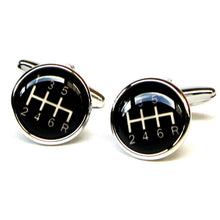 Load image into Gallery viewer, Gear Shift Cufflinks