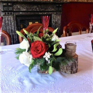 Christmas table Posy