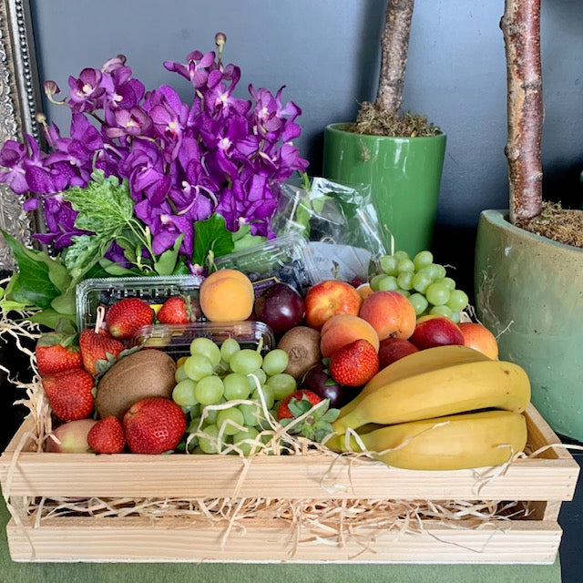 Fruit and  Flowers Hamper