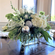Load image into Gallery viewer, White Christmas Table Floral