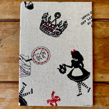 Load image into Gallery viewer, Alice in Wonderland Fabric Gift Card