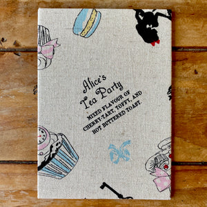 Alice in Wonderland Fabric Gift Card