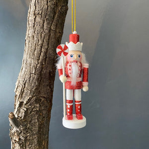 Nut Cracker Hanging Ornament- Candy