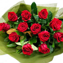 Load image into Gallery viewer, One Dozen Roses Gift Wrapped