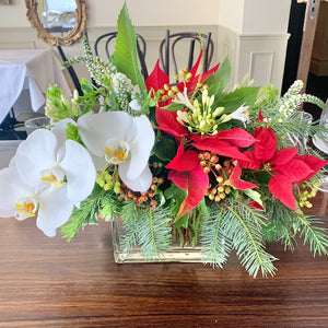 Christmas Table Floral
