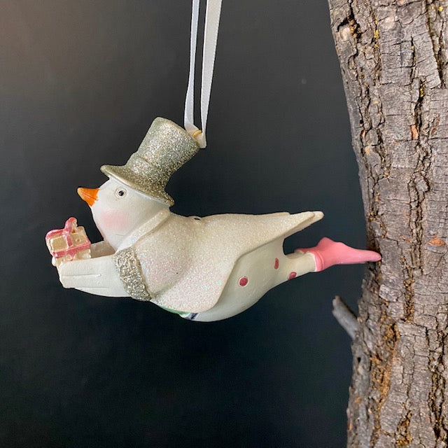 Flying Duck Ornament