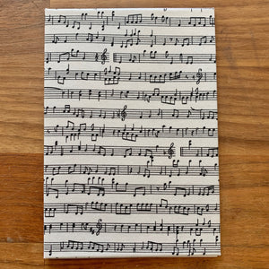 Fabric Music Notes