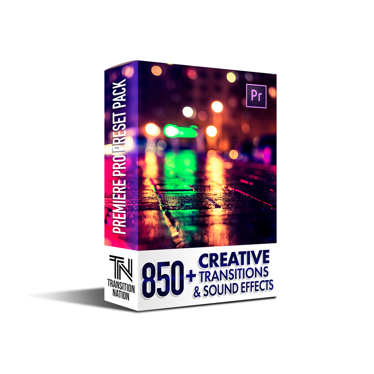 850+ Transitions for Premiere Pro