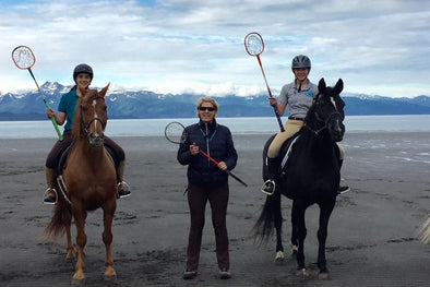 Sally Batton, Equestrian coach at Dartmouth in Alaska.