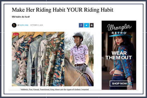 Cowgirl Magazine online October by Katie Lynn featuring Her Riding Habit