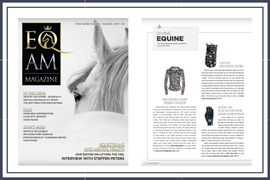 EQ AM gift guide divine equine 2019 featuring Her Riding Habit.