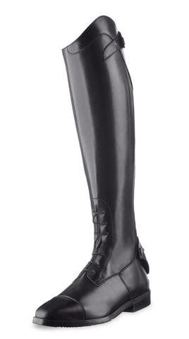 Ego7 Tall Show Boots by Tucci in black.