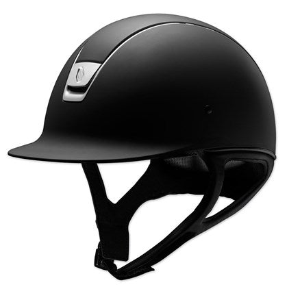 Samshield helmet in black.
