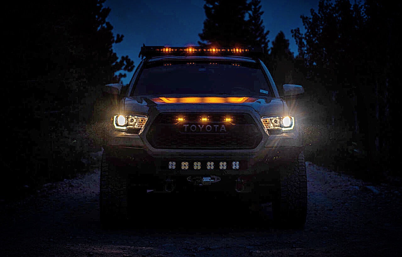 Light up the night with out options for lighting. We have everything you need to get your lighting setup dialed in. ScenePODs, light bars, chase lighting, and more from upTOP overland.
